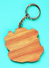Load image into Gallery viewer, Witcher Wooden Charm - Geralt and Jaskier