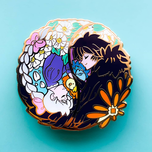 Howl & Sophie Collab With TealTeaCup - Enamel Pin