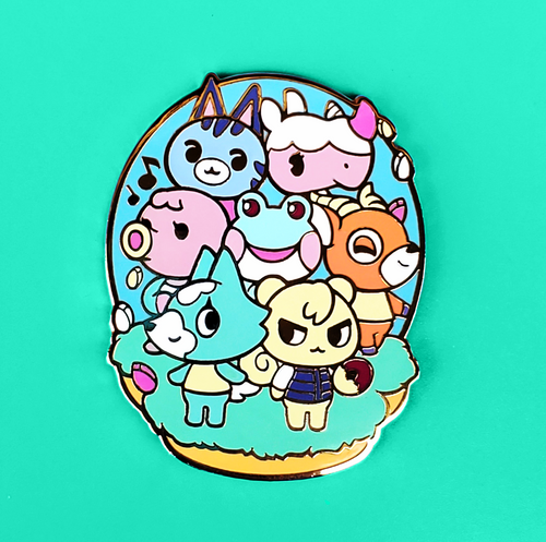 Animal Crossing Enamel Pin