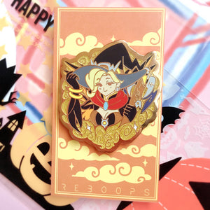 *Halloween Limited Edition* Witch Mercy Enamel Pin