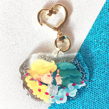 Load image into Gallery viewer, Sailor Uranus and Sailor Neptune Acrylic Charm