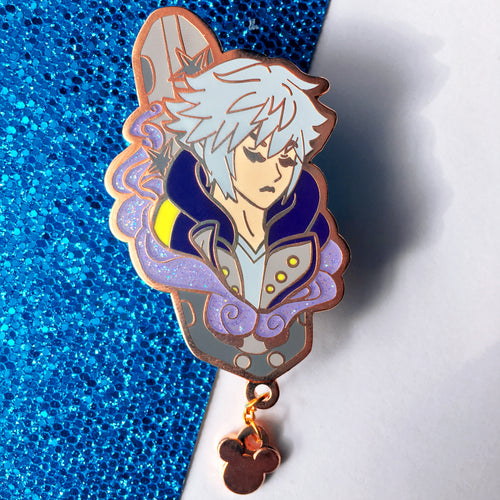 Riku + Chain Enamel Pin