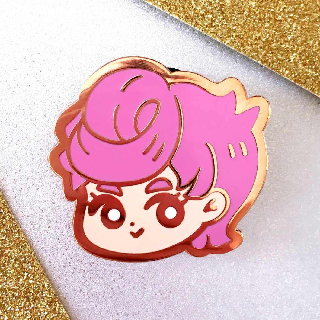 Trish Enamel Pin