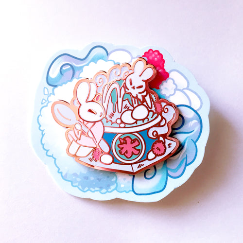 Bunny Shaved Ice - Pin Club Pin