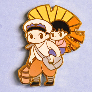 Grave of the Fireflies Enamel Pin