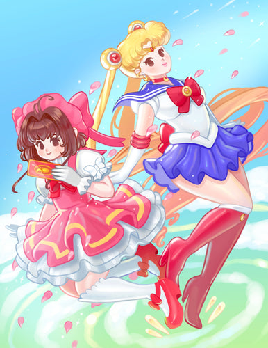 Sailor Moon and Card Captor Sakura