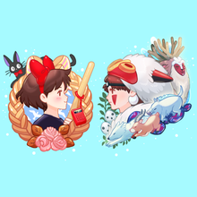 Load image into Gallery viewer, Ghibli Acrylic Charms