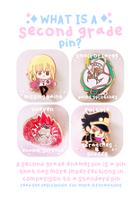 Load image into Gallery viewer, Sora + Chain Enamel Pin