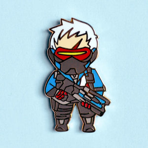 Soldier 76 Enamel Pin