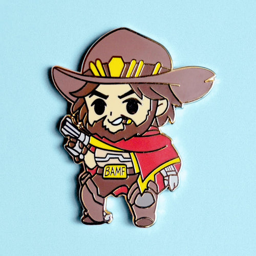 Mccree - Overwatch Hard Enamel Pin