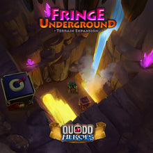 Load image into Gallery viewer, Fringe Underground Terrain expansion for Quodd Heroes