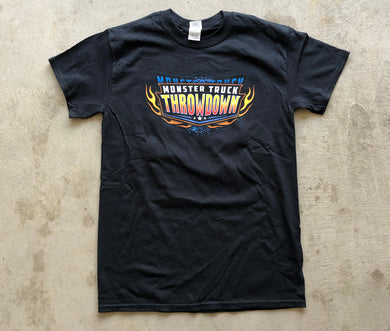Kids Monster Truck Throwdown 2019 Tour T-Shirt Black