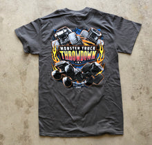 Load image into Gallery viewer, Kids Monster Truck Throwdown 2019 Tour T-Shirt Charcoal