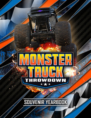 Monster Truck Throwdown 2018 Souvenir Yearbook