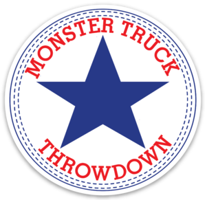 "Monster Truck Throwdown ""All Star"" Sticker"