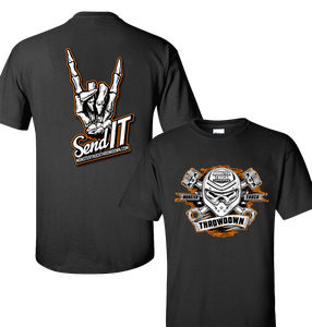 send-it-monster-truck-throwdown-t-shirt