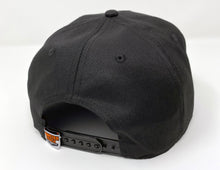 "Load image into Gallery viewer, ""Caddy"" Black Snapback"