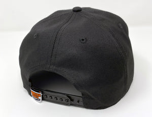 """Caddy"" Black Snapback"