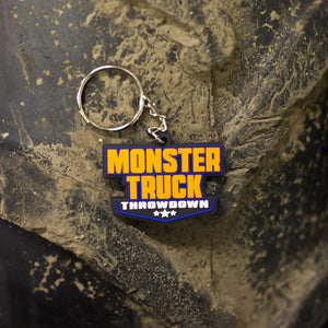 Monster Truck Throwdown Keychain