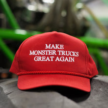 Load image into Gallery viewer, Make Monster Trucks Great Again Snapback *Limited Supply*