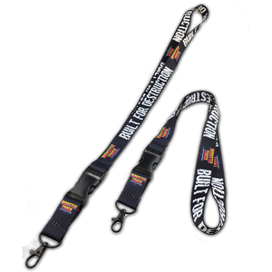 Built For Destruction Lanyard