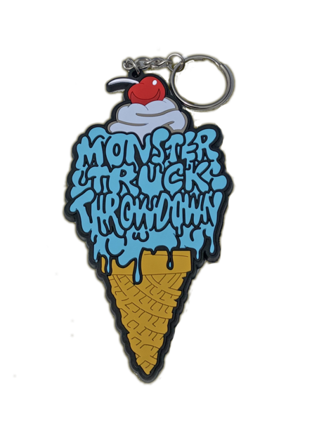 Ice Cream Dreams Keychain
