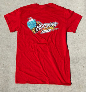 Kids Monster Truck Throwdown Heatwave T-Shirt Red