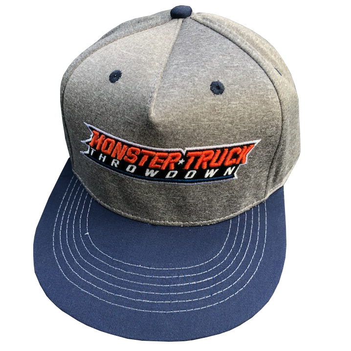 Blue and Grey Snapback