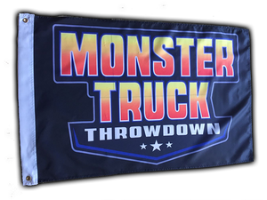 Monster Truck Throwdown Flag