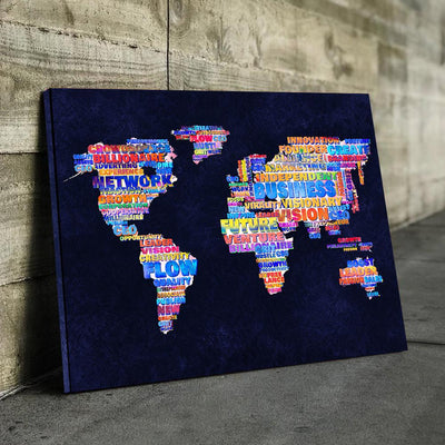 Entrepreneur World Map