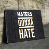 Haters Canvas