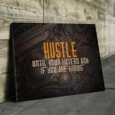 Hustle Until... Canvas