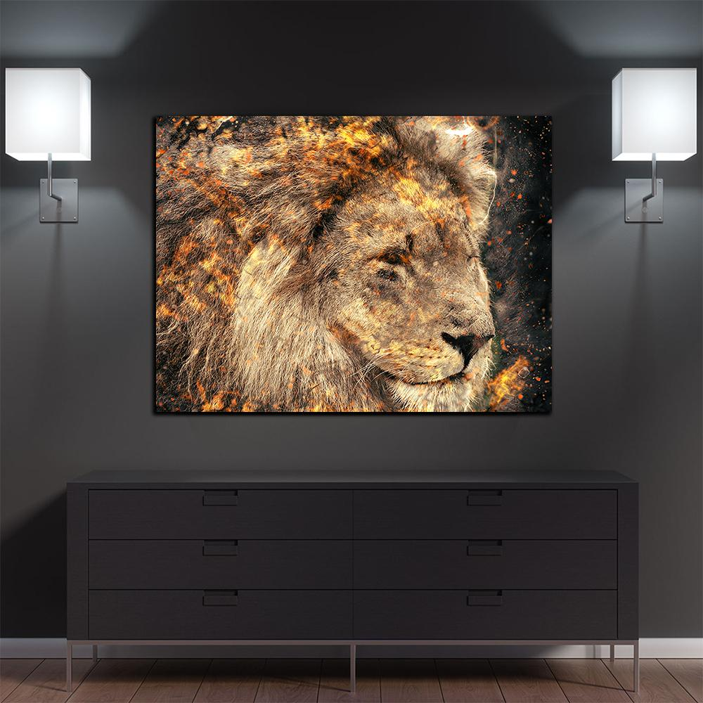 Lion Entrepreneur Canvas