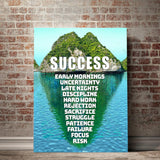 Success Island Canvas