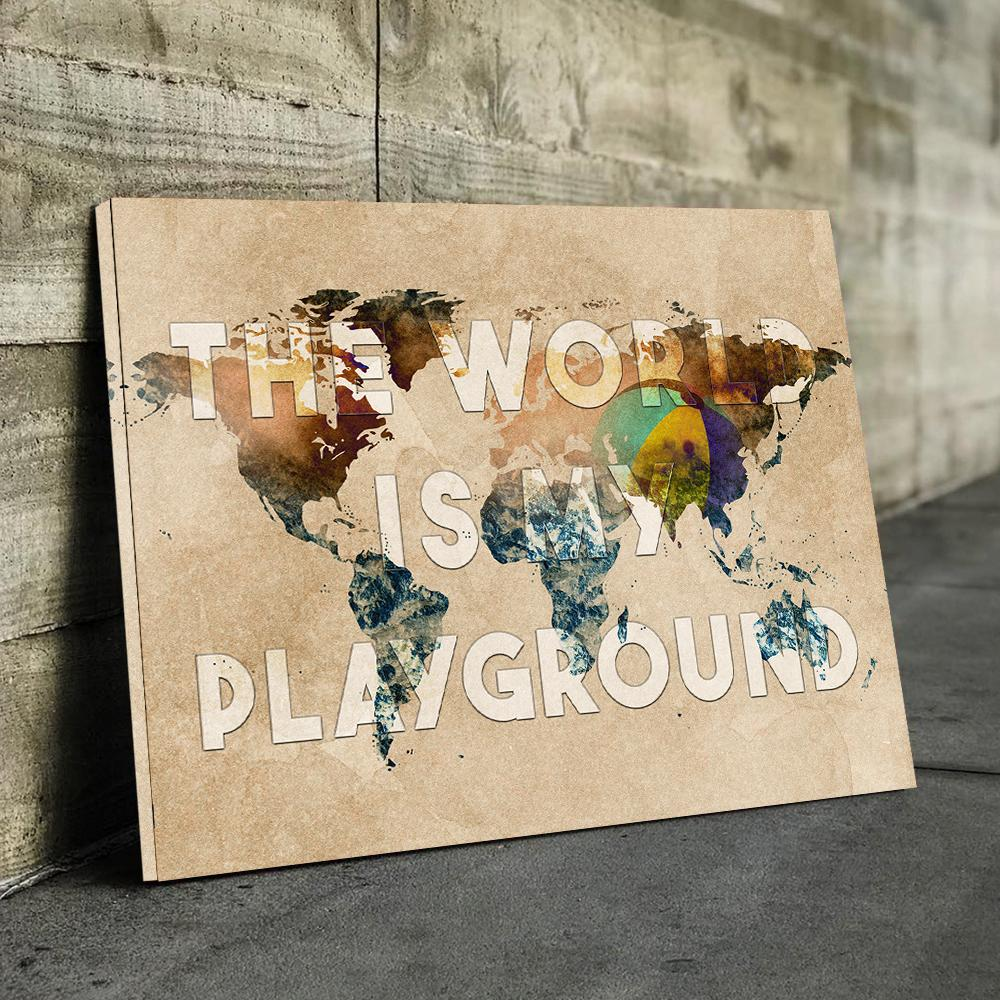 World Is Playground Canvas