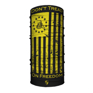 Multifunkciós Arcmaszk | Don't Tread on Freedom | Yellow