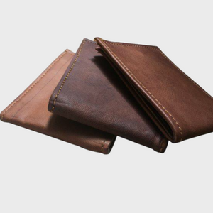 The Recycled Leather Wallet