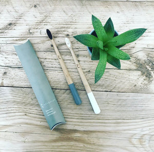 Bamboo Toothbrush (Storm Grey)
