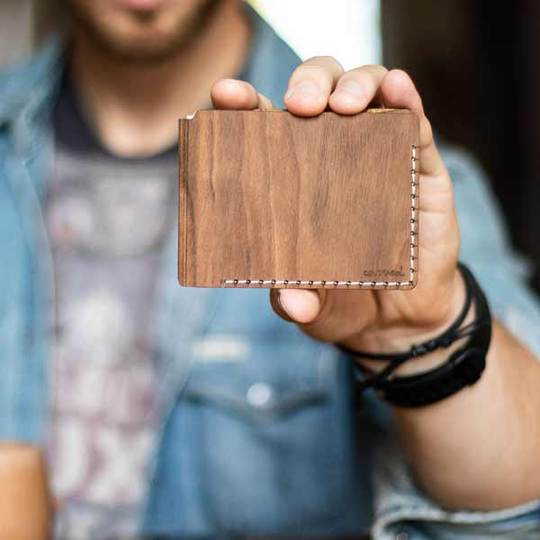 The Wooden Wallet