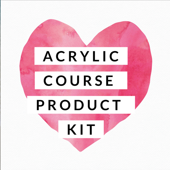 JTTA - Acrylic Course Kit