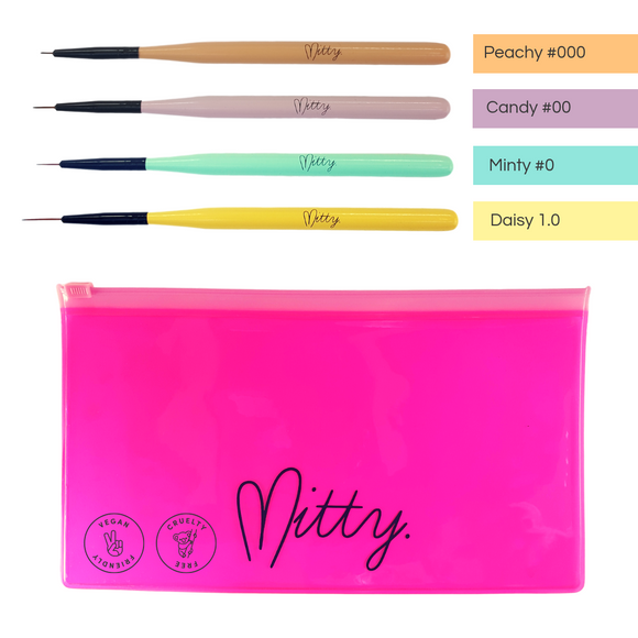 Mitty Detail Brush Pack