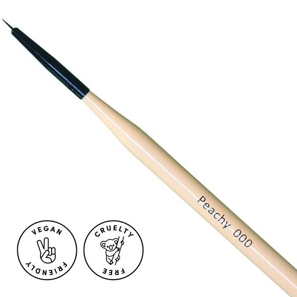 Mitty Detail Brush - Peachy 000 Brush