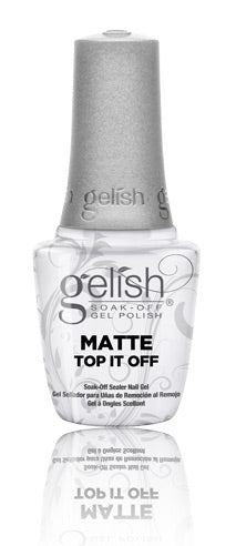 Gelish Matte Top it off