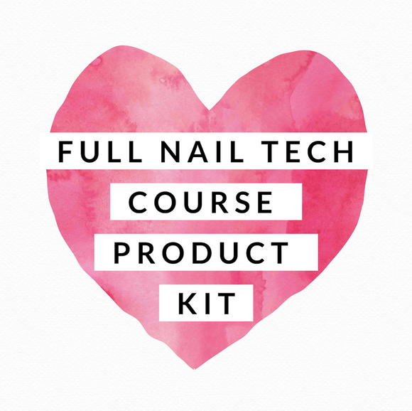 JTTA - Full Nail Technology Course Kit