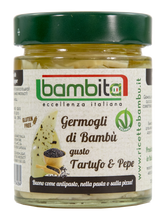 BAMBOO SHOOTS WITH TRUFFLE AROMA AND BLACK PEPPER