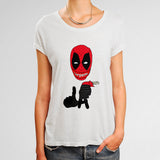 Deadpool Supreme LA Woman's T-Shirt | Leaftunes