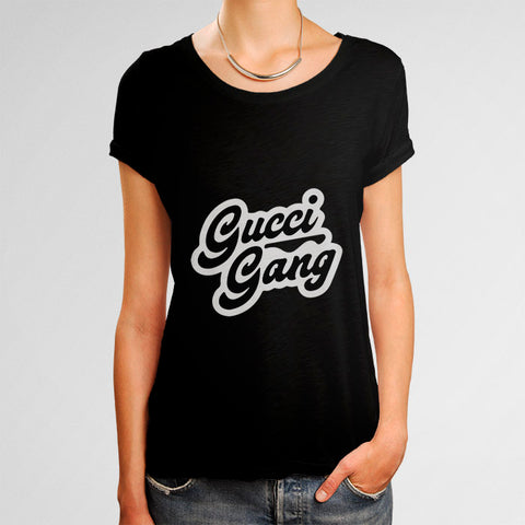 Gucci Gang Woman's T-Shirt | Leaftunes