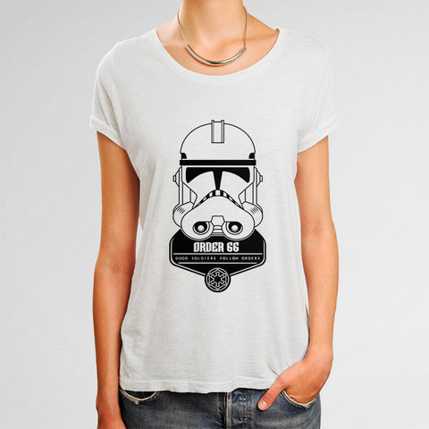 Order 66 Stormtrooper Woman's T-Shirt | Leaftunes