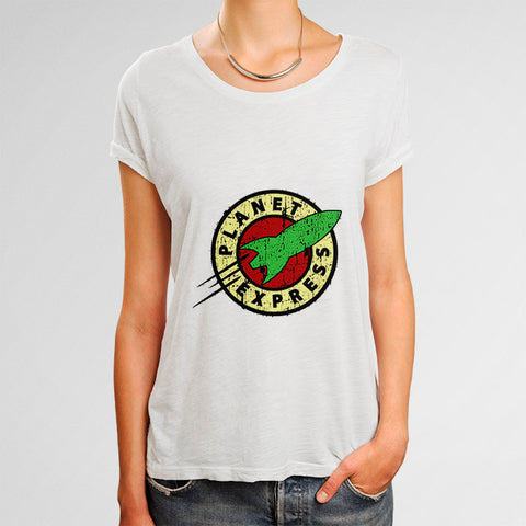 Planet Express Woman's T-Shirt | Leaftunes