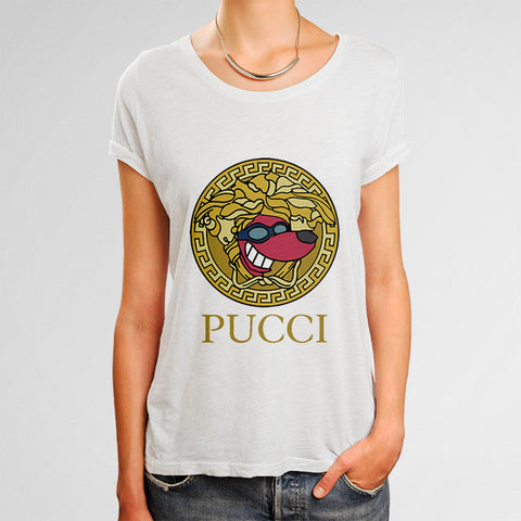 PUCCI GOLD Woman's T-Shirt | Leaftunes